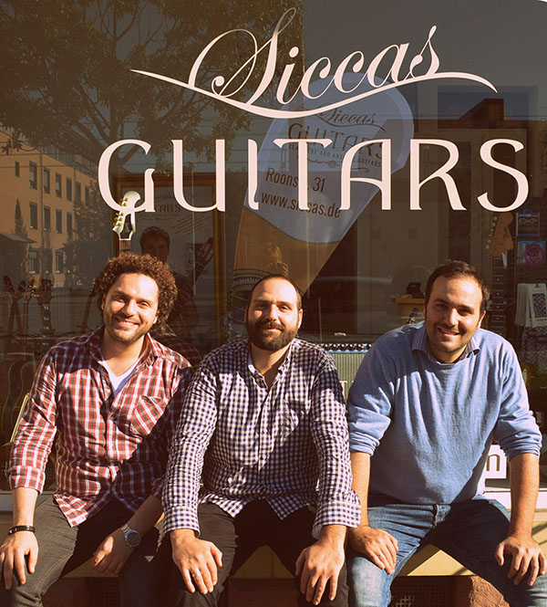 siccas guitars vor shop